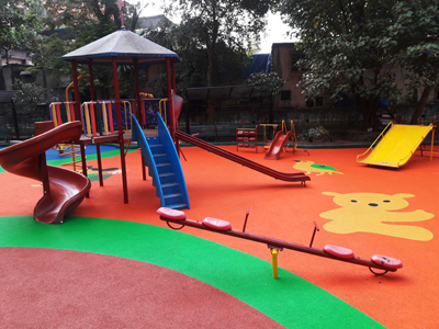 EPDM Rubber Flooring-Rubber Surface & Tile-Smart Floormate-Alibaug